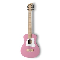 Loog Pro Acoustic Guitar IV Pink  for ages 9+
