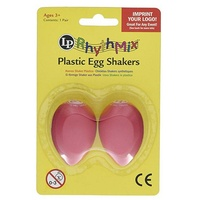Latin Percussion LPR004-CH RhythMix Egg Shakers - Cherry