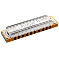 Hohner Marine Band Diatonic Harmonica 10 holes 20 reeds Blues Harp Key C#