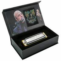 "Hohner ""Billy Joel"" Signature Series Harmonica Wich display Case Key of C"