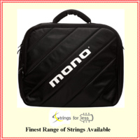 MONO Cases M80 Bass Drum Dual Pedal Case Black M80DPBLK