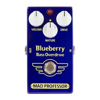 Mad Professor Blueberry Bass Overdrive Bass Guitar Effect Pedal
