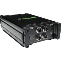 Mackie MDB-2P 2-Channel Stereo Passive Direct Box