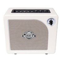 Mooer Hornet White 15W Modelling Combo Electric Guitar Amplifier C/w Effects
