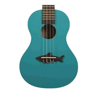 Kala Makala Shark Series Sporano Ukulele Blue Sea with Bag