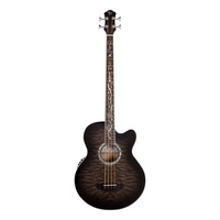 Acoustic Electric Bass Dragonfly Smokeburst
