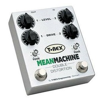 T-Rex Mean Machine DOUBLE DISTORTION Effects Pedal EOFY sale 1 Only !