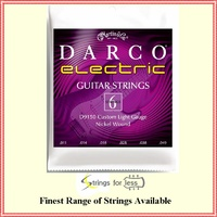 Martin D9150 Darco Electric Guitar Strings Custom Light  11 - 49 Nickel Wound