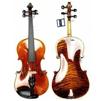 "Reichel Violas Meister 15"" Oil Varnished Viola Aubert Deluxe Bridge Helicore"