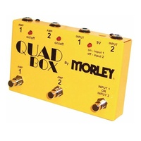 Morley Quad Box Guitar and Amp Switcher Controls 2 Guitars & 2 amps EOFY SALE