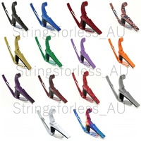 Kyser Capo Acoustic Guitar Capo 6-String Quick Change Multiple Colours 6 String