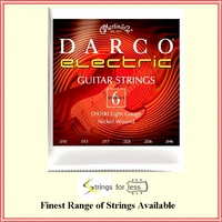 Martin D9200 Darco Electric Guitar Strings, Light Gauge 10 - 46 Nickel Wound