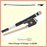 Cello 1/4 Bow Stamped Mueller Carbon Fiber / Graphite strength and flexibility