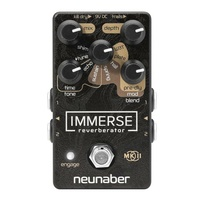 Neunaber Immerse Reverberator MKII Reverb Guitar Effects Pedal