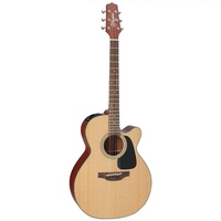 Takamine P1NC Acoustic-Electric Guitar - Natural Satin Made in Japan