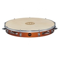 Meinl Percussion PA12CN-M  Traditional wood Pandeiro  12 Inch  Chestnut