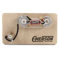 Emerson Kit for Precision Bass Prewired with 2 Emerson CTS 250k Pots, Input Jack