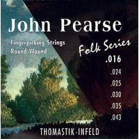 Thomastik-Infeld John Pearse Folk Series Guitar Strings PJ116 - 16-43