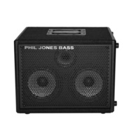"Phil Jones Bass Cab 27 200W 2x7"" speakers  Bass Speaker Cab with 3"" Tweeter"