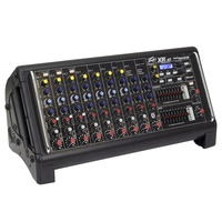 "Peavey  ""XR-AT"" Portable 9-Channel 1500 Watt Powered Mixer with autotune"