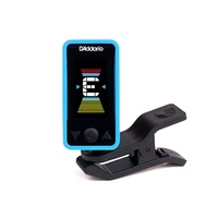 D'Addario Accessories Eclipse Headstock Tuner, Blue Planet Waves PW-CT-17BU