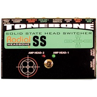 Radial HEADBONE SS - Amp Head switcher for two solid state amps Ex Demo