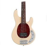 Sterling by Music Man RAY35CA Classic 5-String Electric Bass Guitar Vint Cream