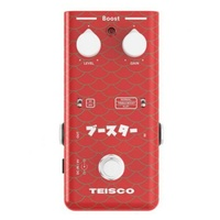 Teisco Boost Guitar Effects Pedal Versatile FET boost