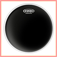 "Evans 16"" Black Chrome Batter Drum Head - 16 inch black 2 ply Head  TT16CHR"