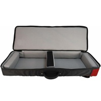 Ultimate Support Hybrid  Soft Case - 61 key Keyboard / Controller Red Trim