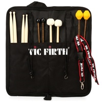 Vic Firth Education Pack with Basic Stick Bag, SD 1  SD 2 Drumsticks, and M3, M6, and T3 Mallets