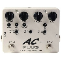 Xotic Effects USA AC+ Booster Overdrive with Compressor Effects Pedal Sale Price
