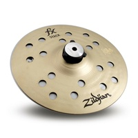 "Zildjian FX Stack with Mount - 8""  Cymbal Stack with Threaded Stand Adapter"