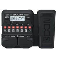 Zoom G1X FOUR Guitar Multi-effects Processor with Expression Pedal 70+ effects