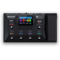 Zoom G6 Multi-effects Processor with 2-in/2-out USB 2.0 Audio Interface
