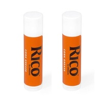 2 Pack Rico Premium Woodwind Cork Grease  for clarinet Saxophone Oboe Bassoon