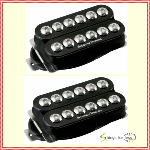 Seymour Duncan SH-8SG Synyster Gates Invader Humbucker set black / Chrome