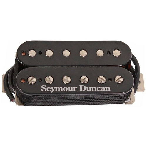 Seymour Duncan SH-11 Custom Custom Humbucker Black Guitar Pickup 11102-70-B